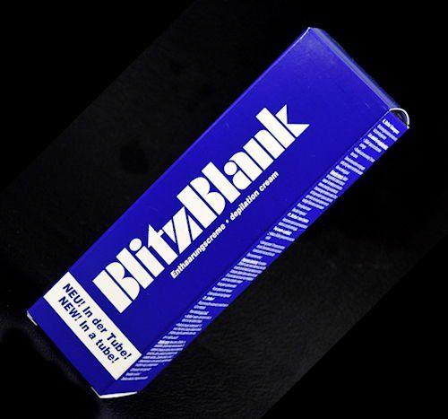Blitzblank Enthaarungscreme Intimbereich