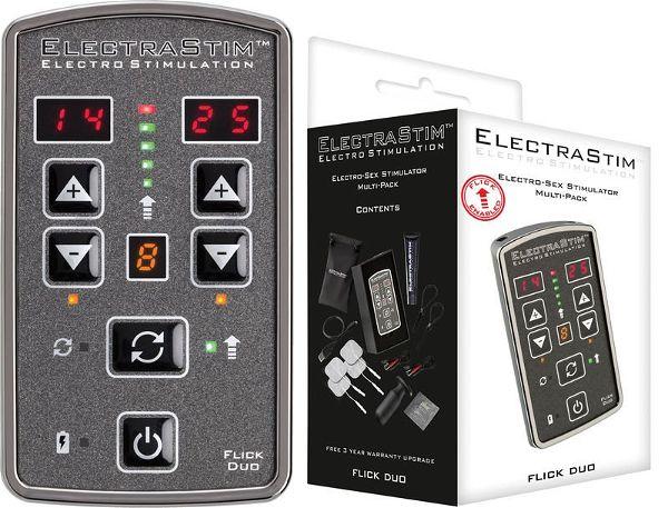 ElectraStim Anschlußkabel: Rundstecker und 2 mm-Stifte