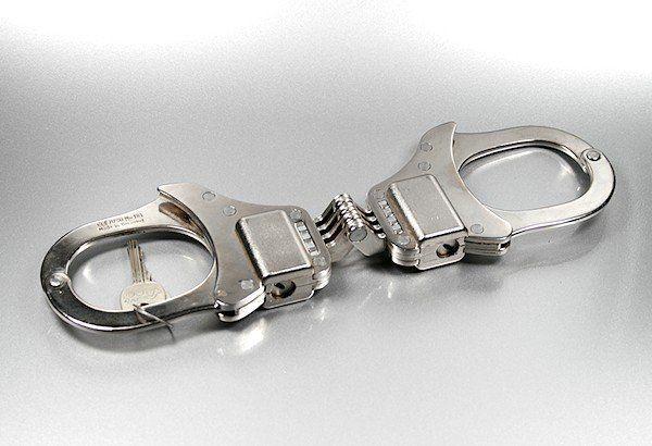 Clejuso Hochsicherheits-Handfessel Stahl