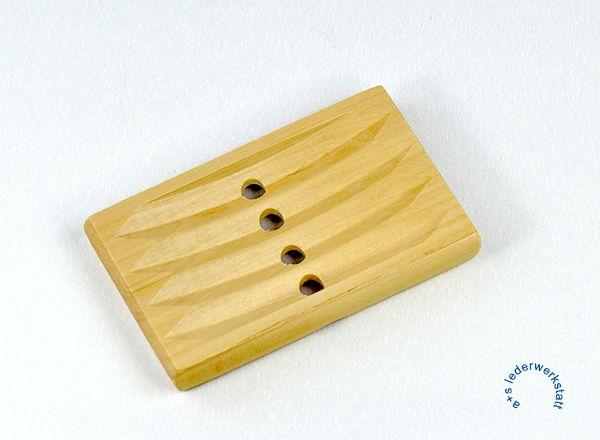 Seifenhalter aus Honigholz  6.5 x 11 x 1.5 cm