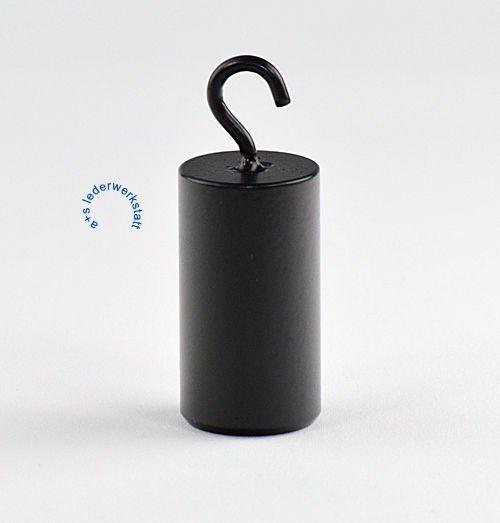 Gewicht zum Einhängen. Zylindrische Form. 200 Gramm
