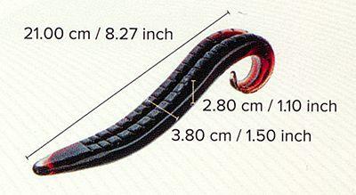 Zunge des Leviathan Abmessungen
