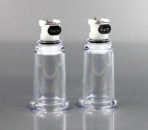 Vakuum Brustwarzenzylinder (Paar) ID=2.1 cm