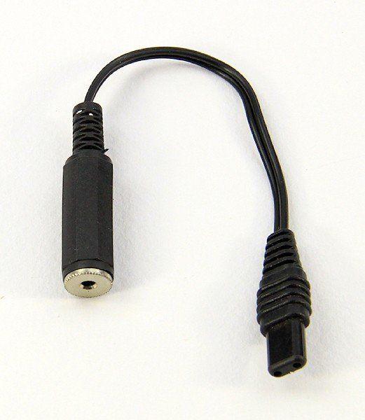 Adapter 2.5 mm Klinkenbuchse zu Flachstecker/Fl