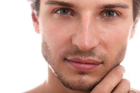 Hautpflege Mann