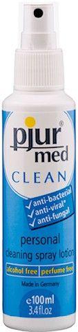 Pjur Med CLEAN 100 ml - Reinigungsspray für Toys & Intimbereich
