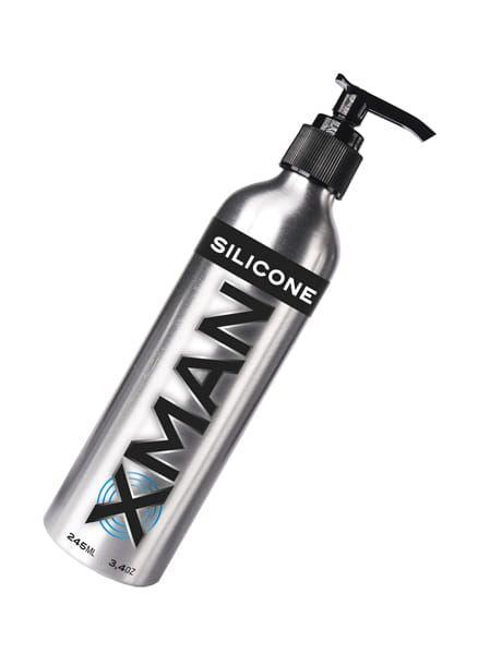 X-Man Metal Silicone Body-Lubricant 245 ml