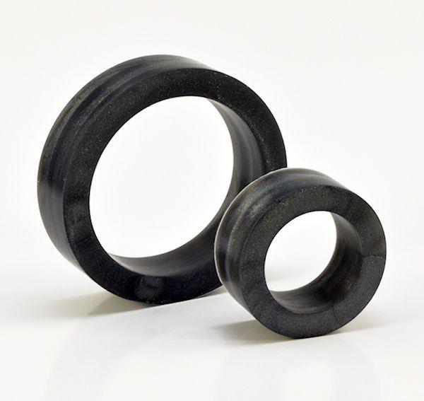 Silikon Cockring Set schwarz