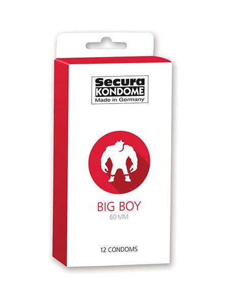 Kondom 60 mm breit Big Boy Secura 12 Stück